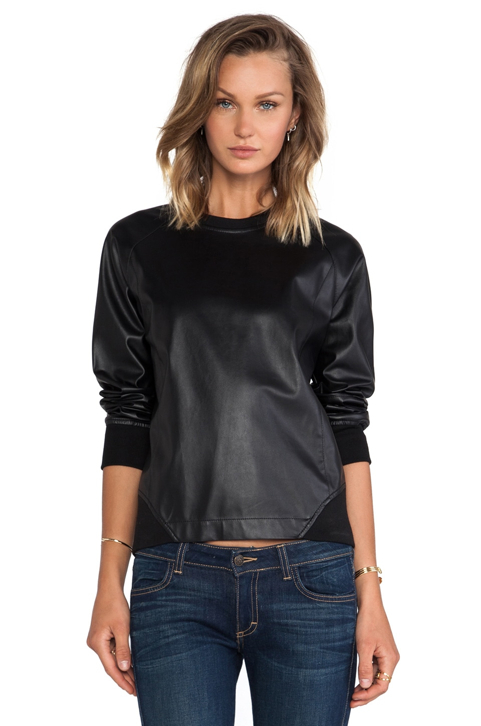 BCBGMAXAZRIA Pullover in Black