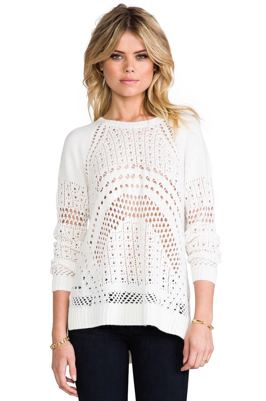 BCBGMAXAZRIA Jaycee Sweater in Gardenia