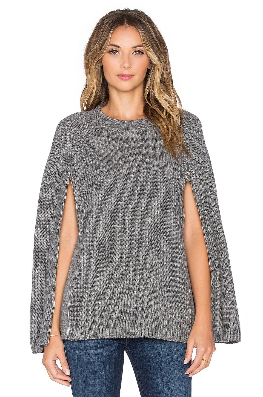 BCBGMAXAZRIA Sherwin Sweater in Heather Grey