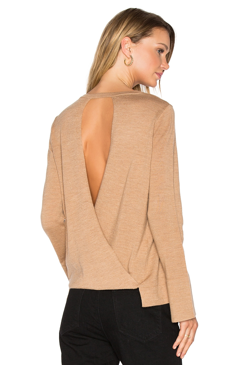 Open Back Sweater at REVOLVE