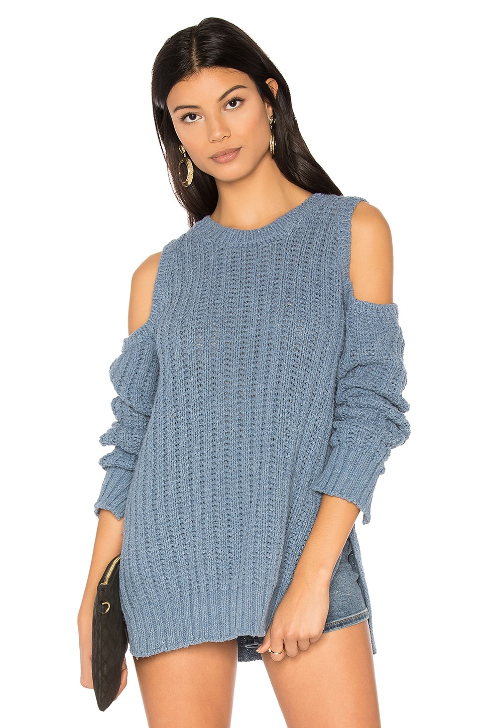 BCBGMAXAZRIA Tressa Sweater in Denim