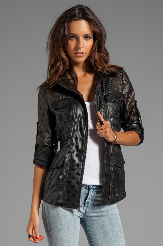 BCBGMAXAZRIA Four Pocket Jacket in Black