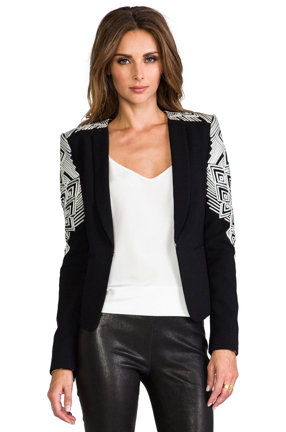 BCBGMAXAZRIA Abram Jacket in Black