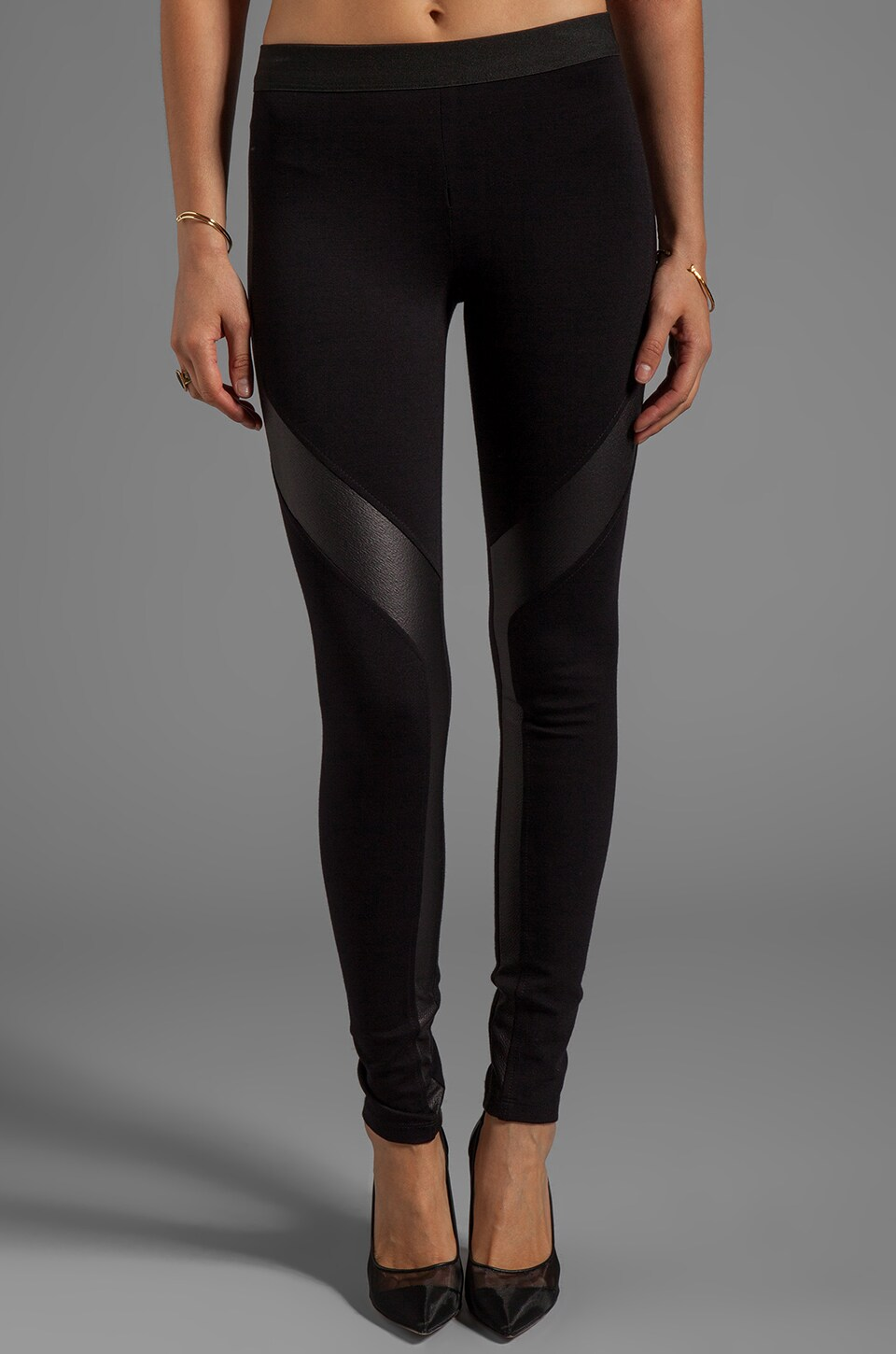 BCBGMAXAZRIA Luca Legging in Black