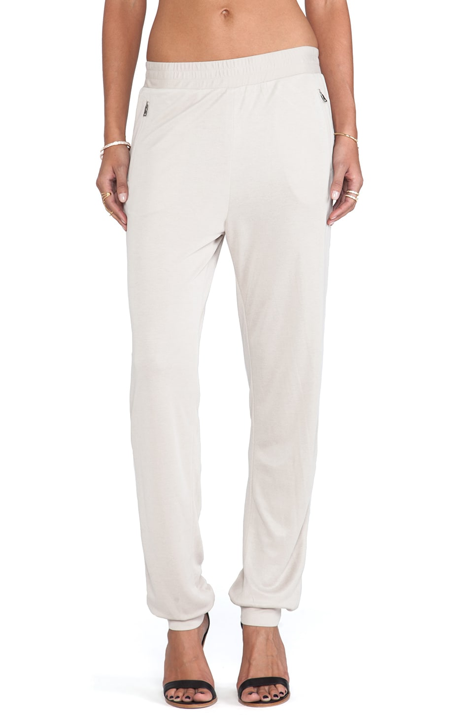 BCBGMAXAZRIA Sam Slouchy Pants in Vintage Light Stone