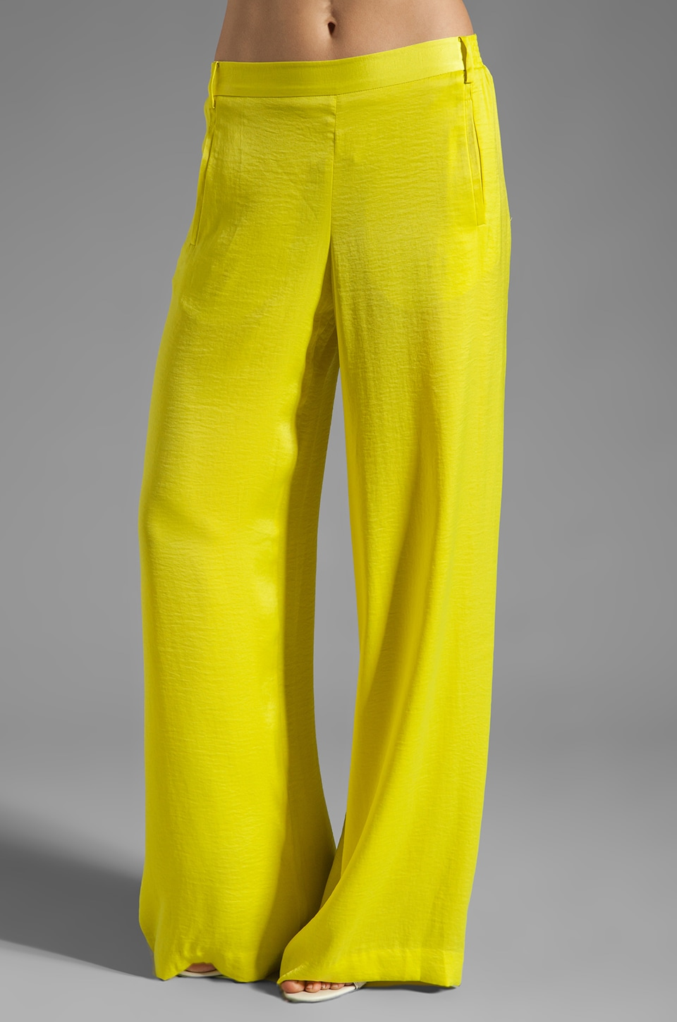 BCBGMAXAZRIA Lounge Pant in Lemon