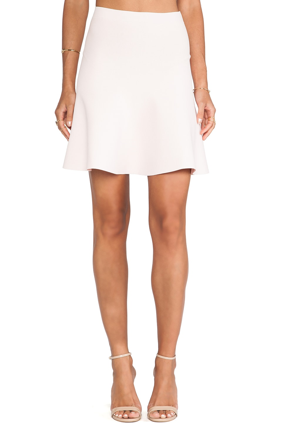 BCBGMAXAZRIA Skirt in Dusty Pink