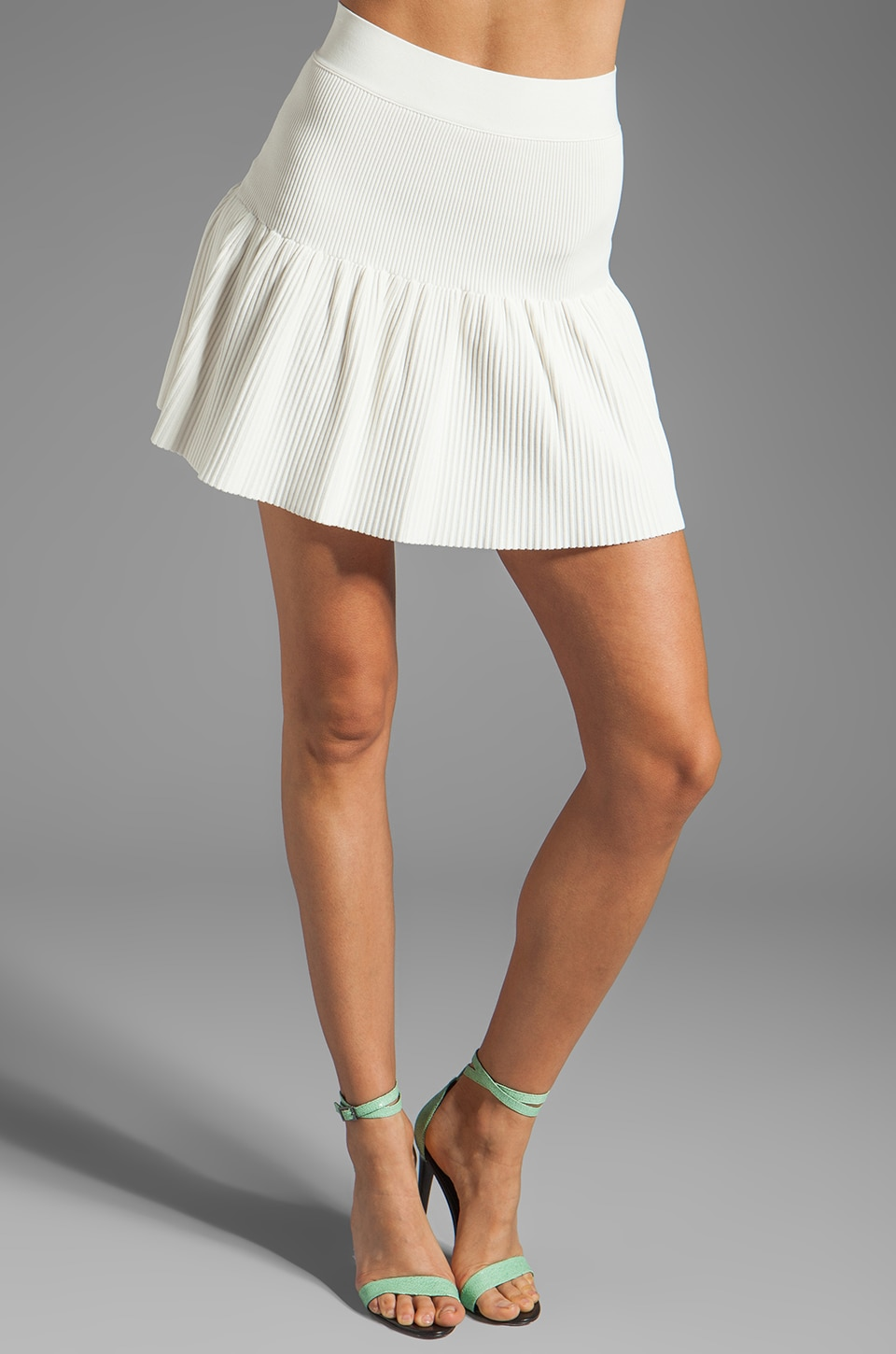 BCBGMAXAZRIA Skirt in Gardenia