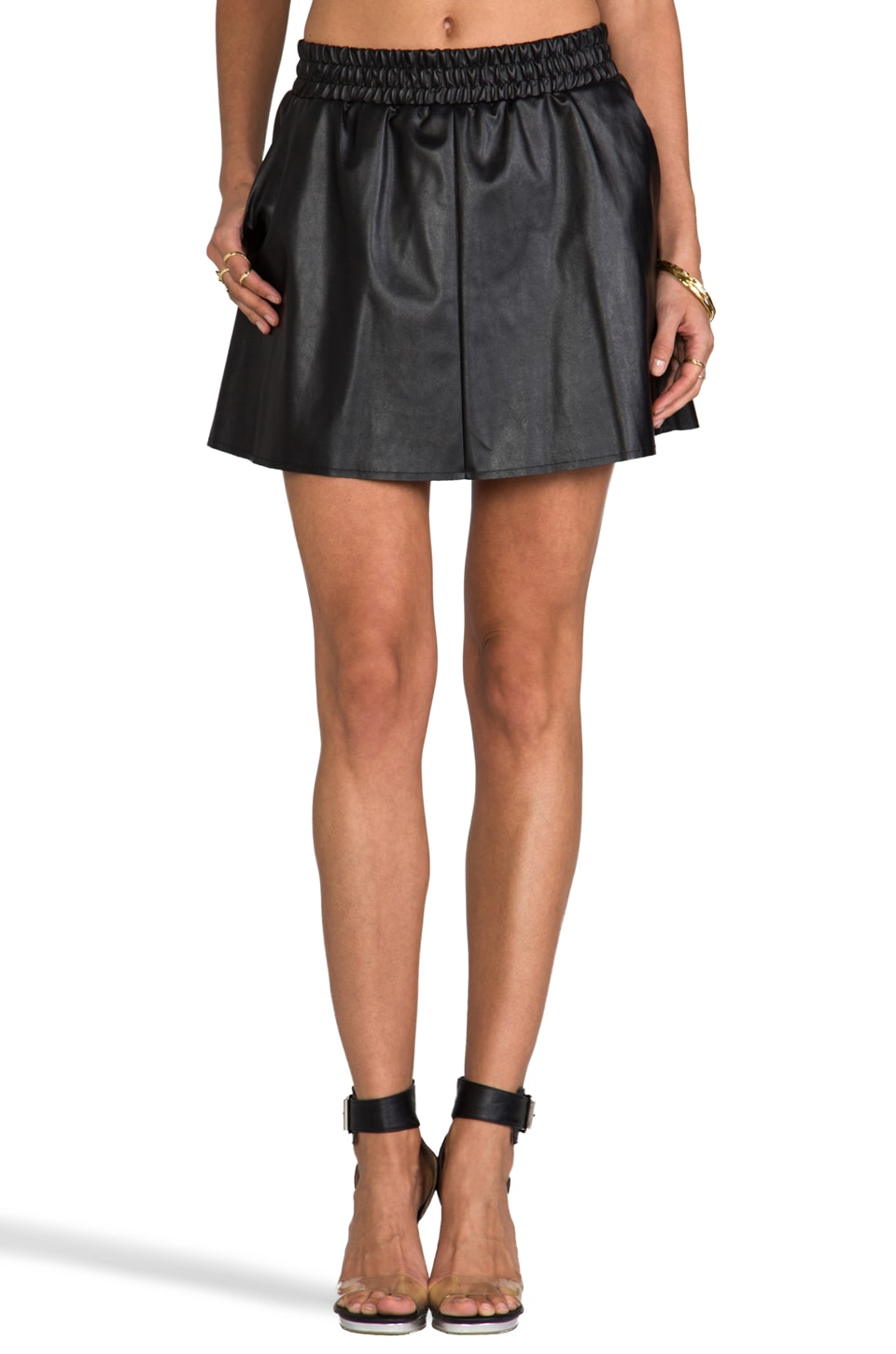 BCBGMAXAZRIA Laika Skirt in Black