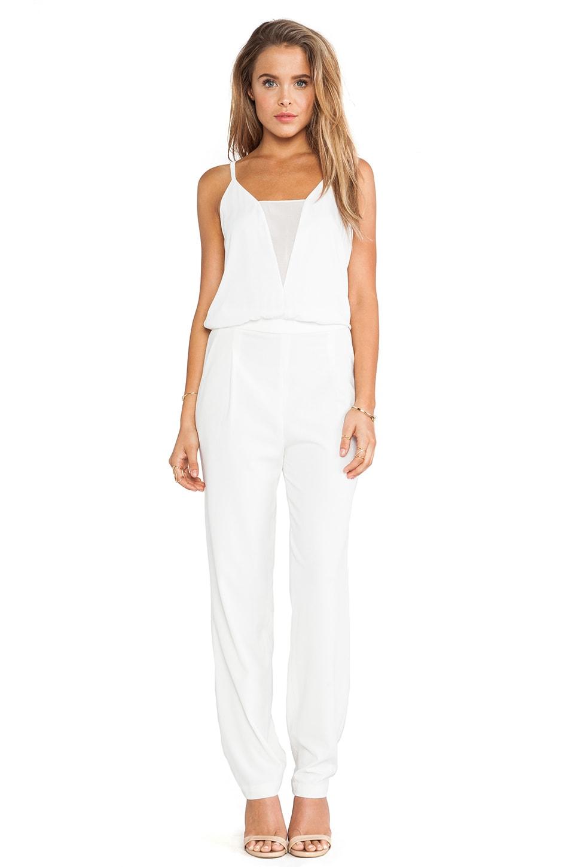 BCBGMAXAZRIA Waylen Jumpsuit in White