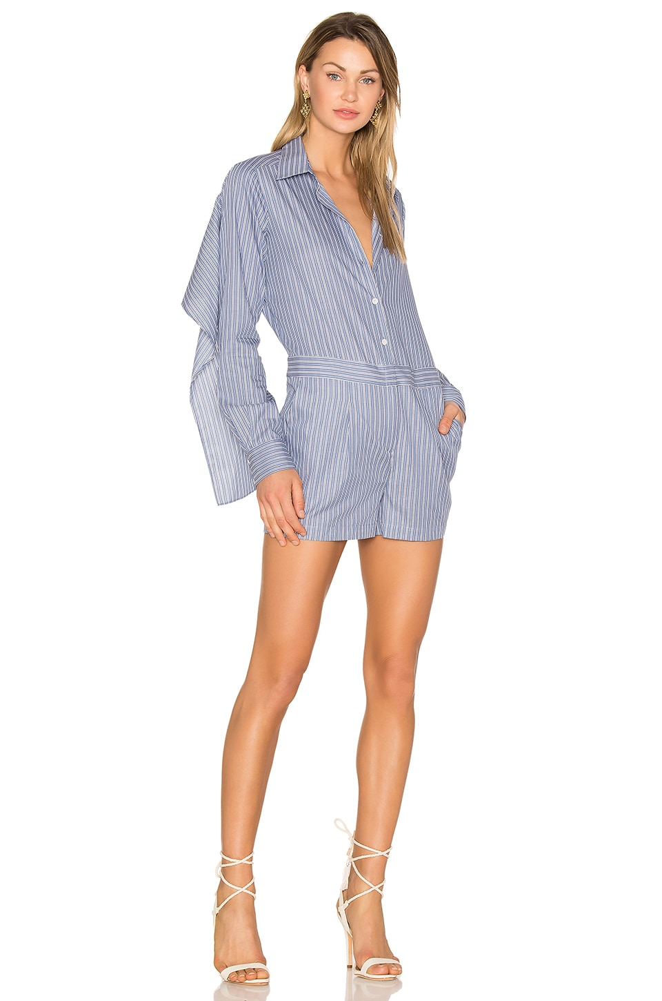 Collared Romper by Bcbgmaxazria