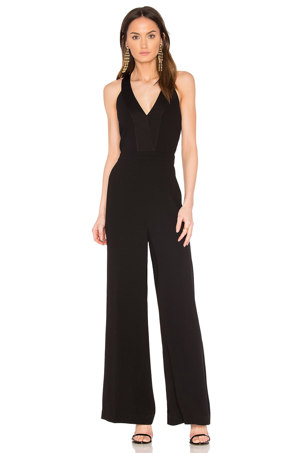 BCBGMAXAZRIA Emanuel Jumpsuit in Black