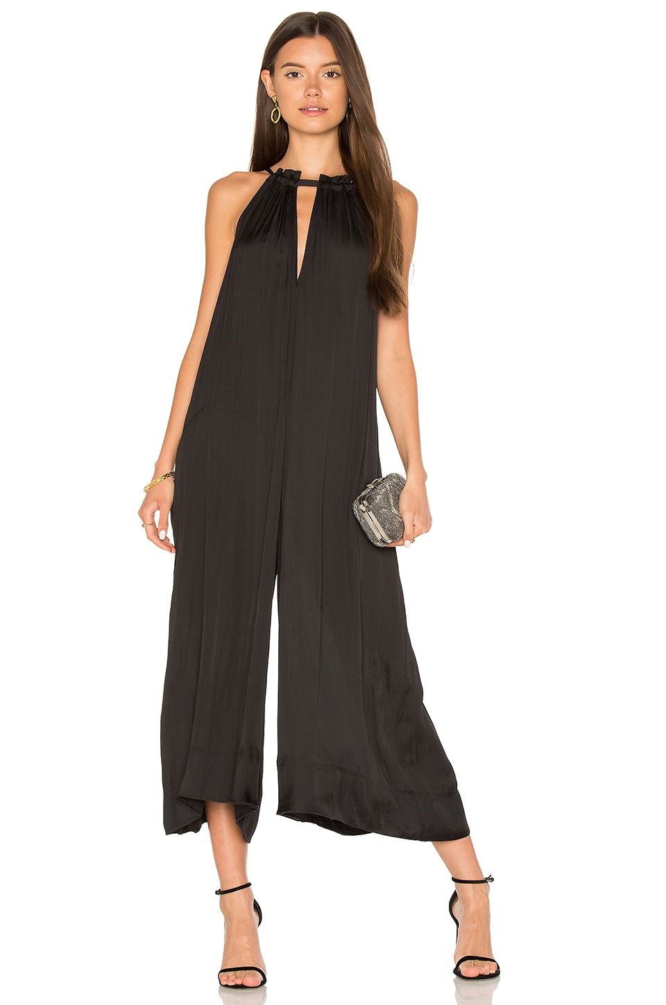 Wide Leg Jumpsuit by BCBGMAXAZRIA
