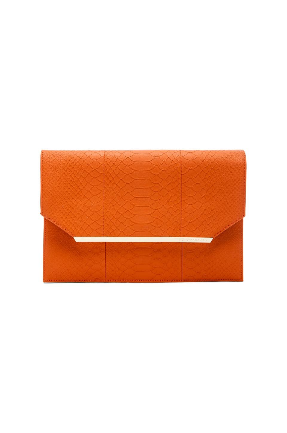 BCBGMAXAZRIA Kelly Envelope in Orange