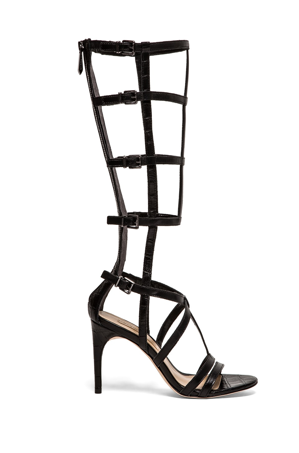 BCBGMAXAZRIA Pike Gladiator Heels in Black