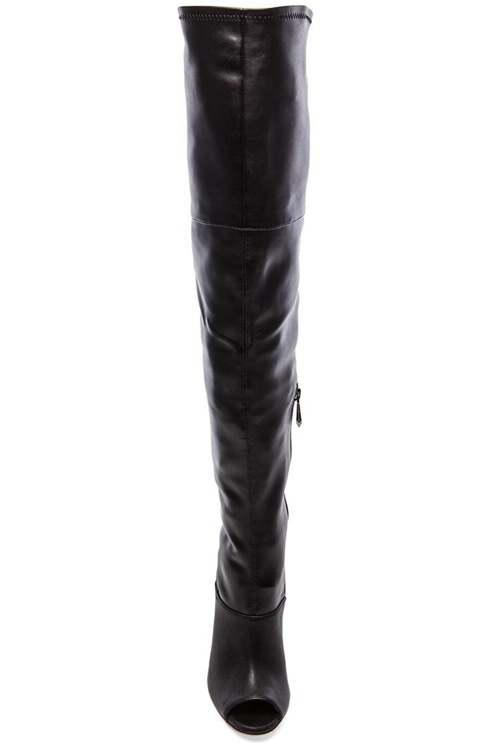 Open Toe Over The Knee Boots - Cr Boot