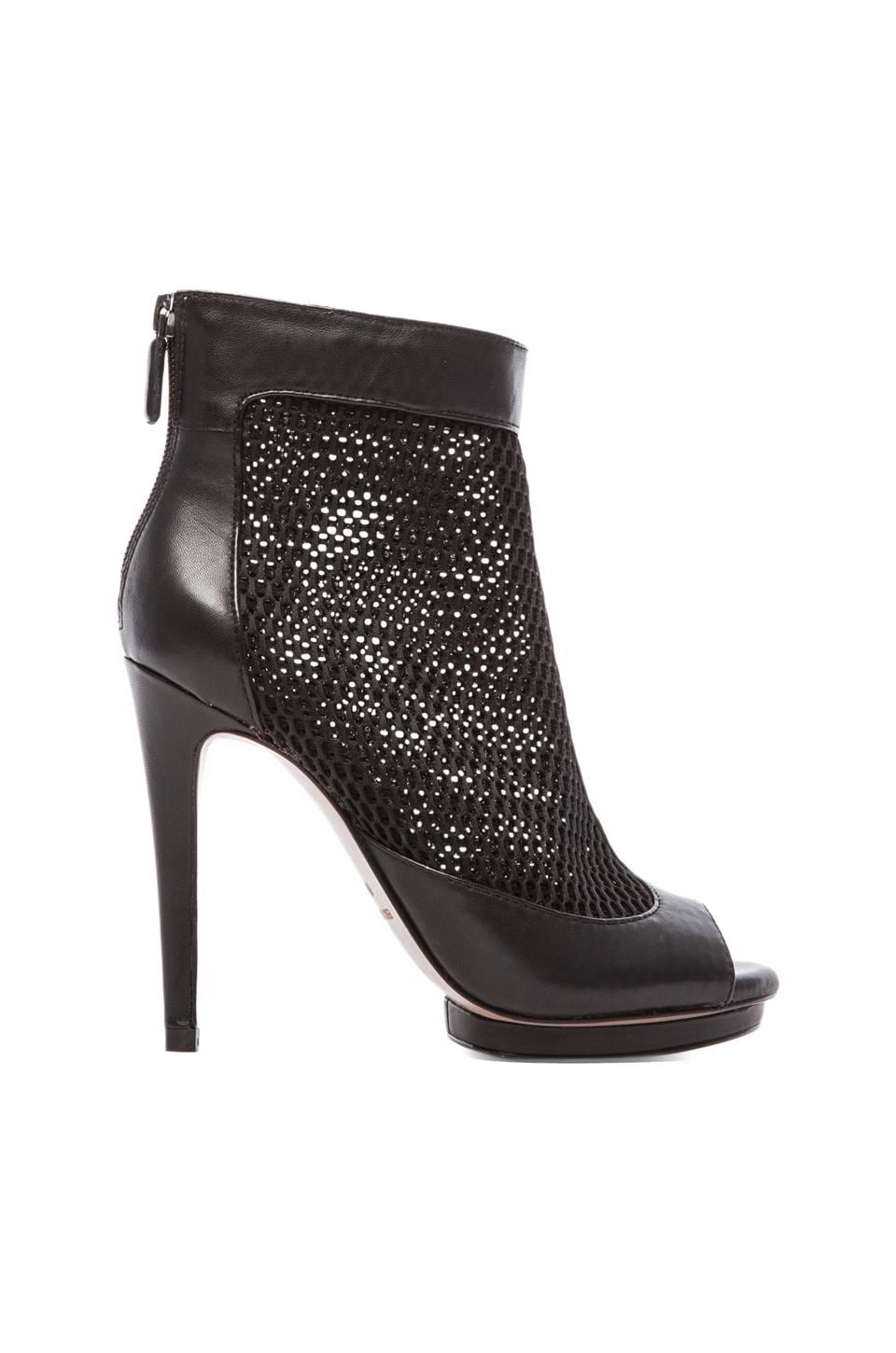 BCBGMAXAZRIA Ginni Mesh Booties in Black