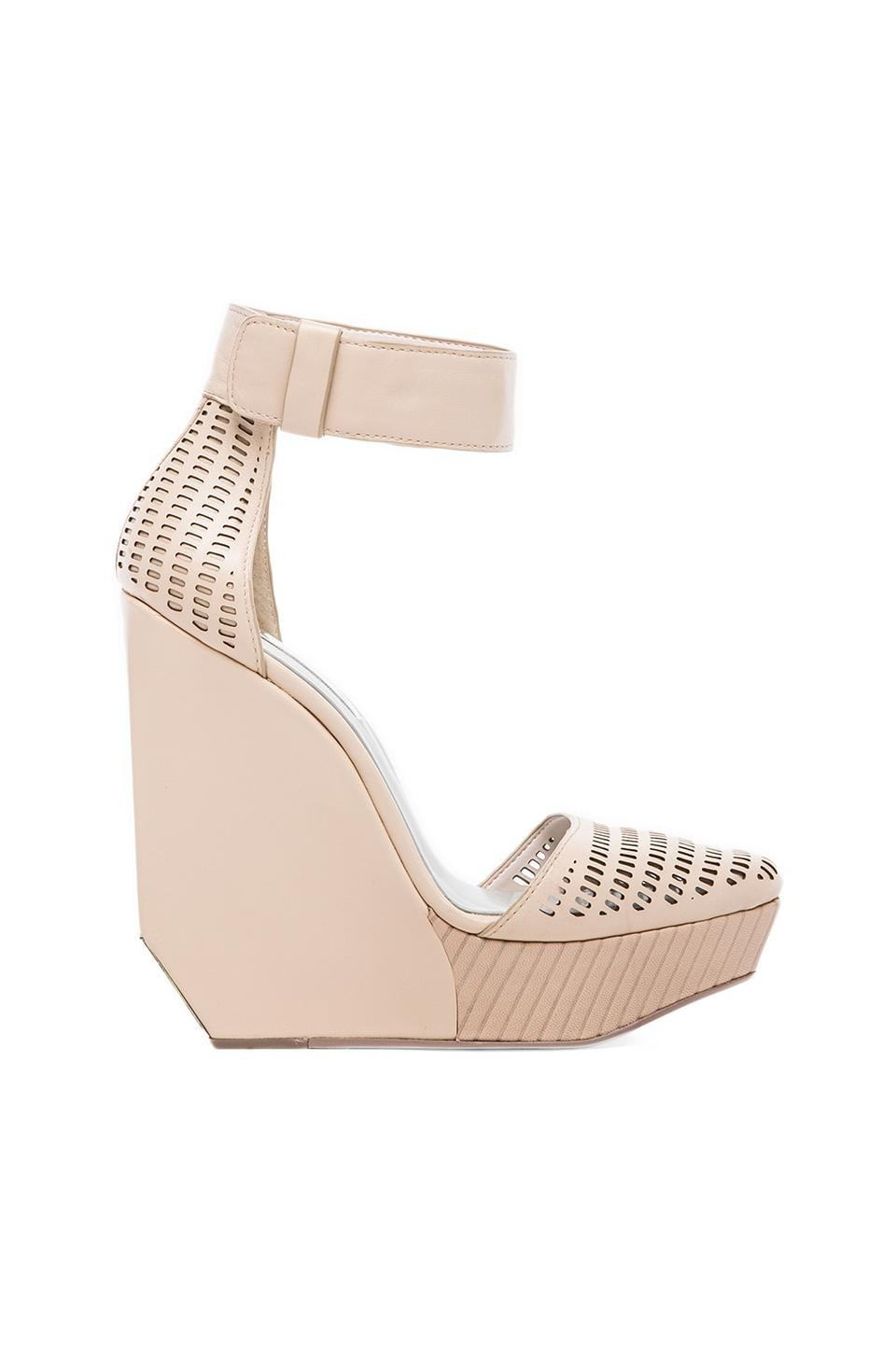 BCBGMAXAZRIA Austin Wedge in Parfait