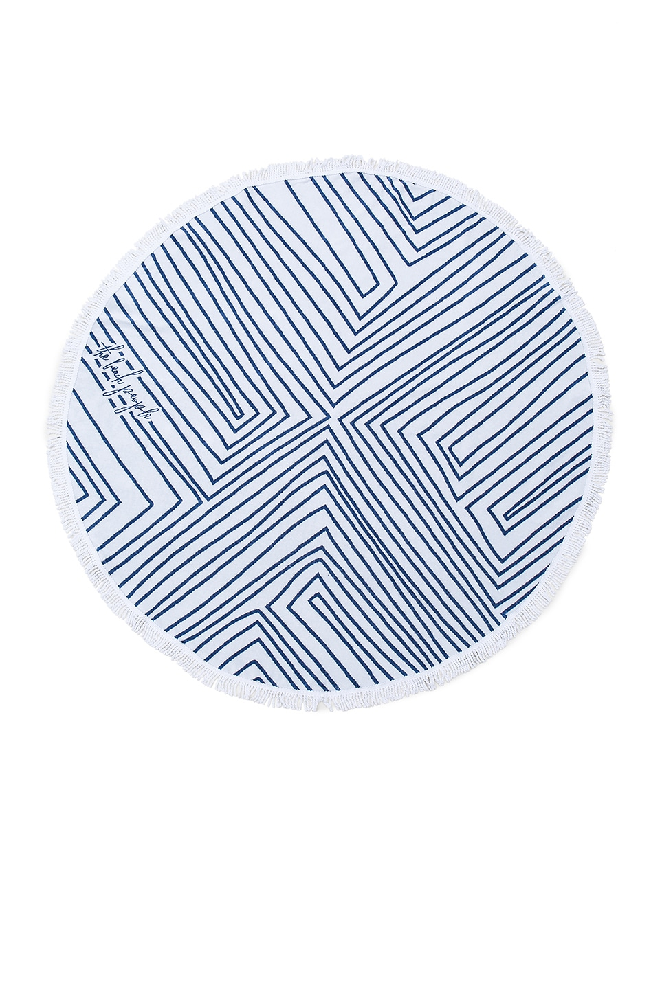 The Avalon Round Towel