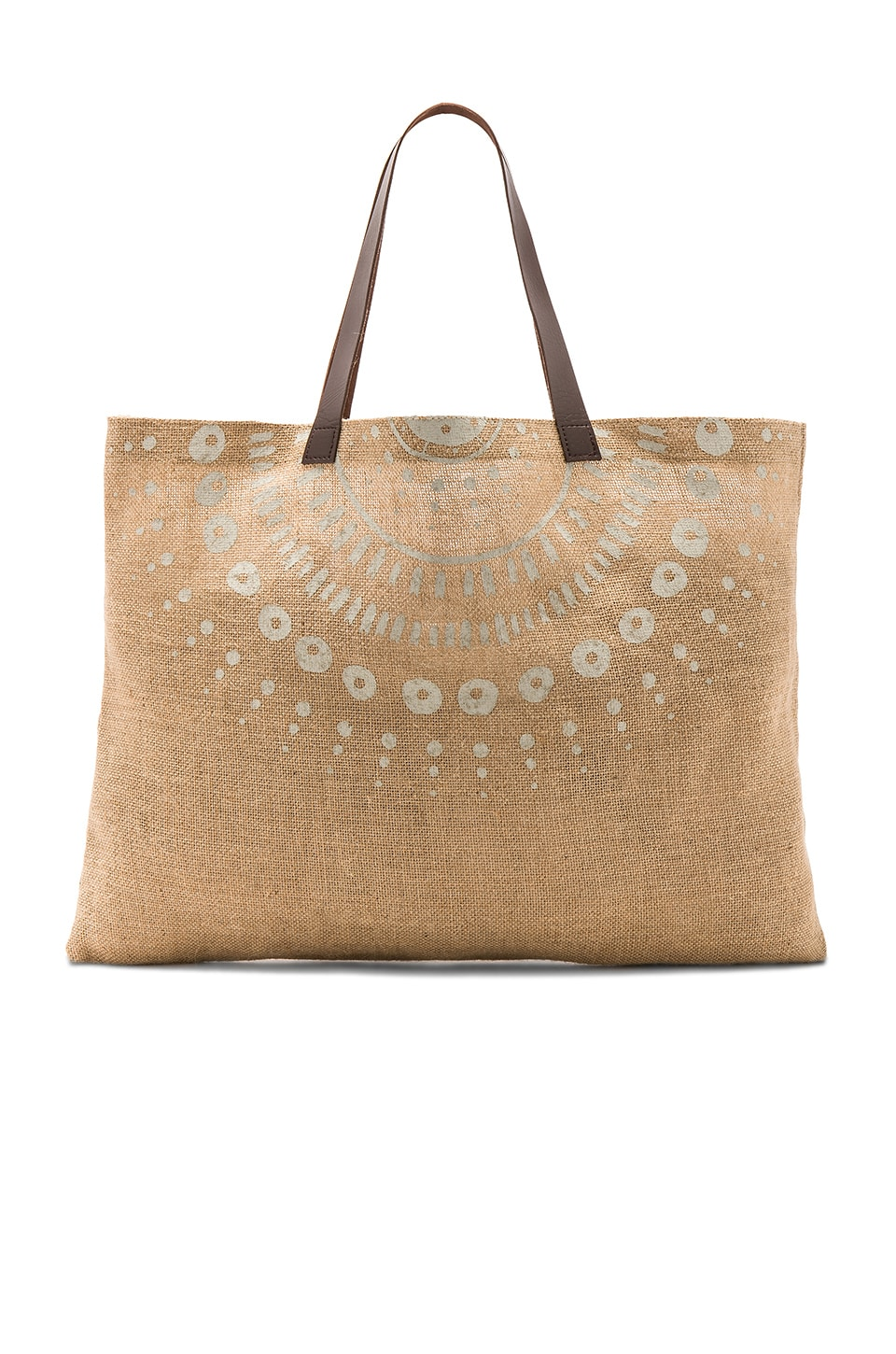 The Beach People Jute Wategos Bag in Natural