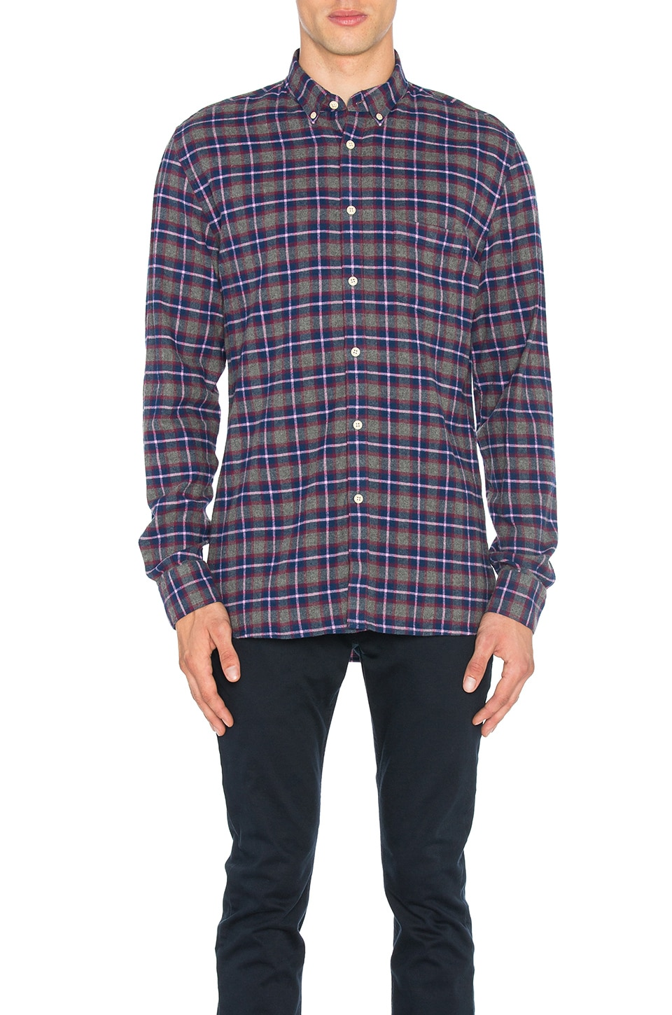 Cabin Long Sleeve Shirt by Barney Cools
