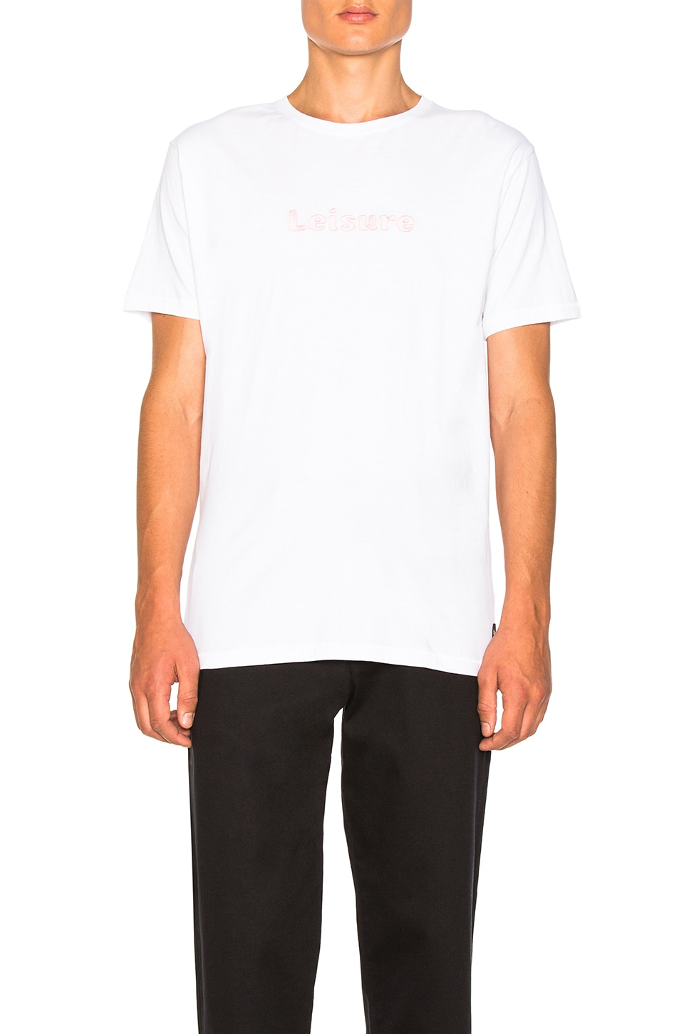 Leisure Tee In White by Barney Cools