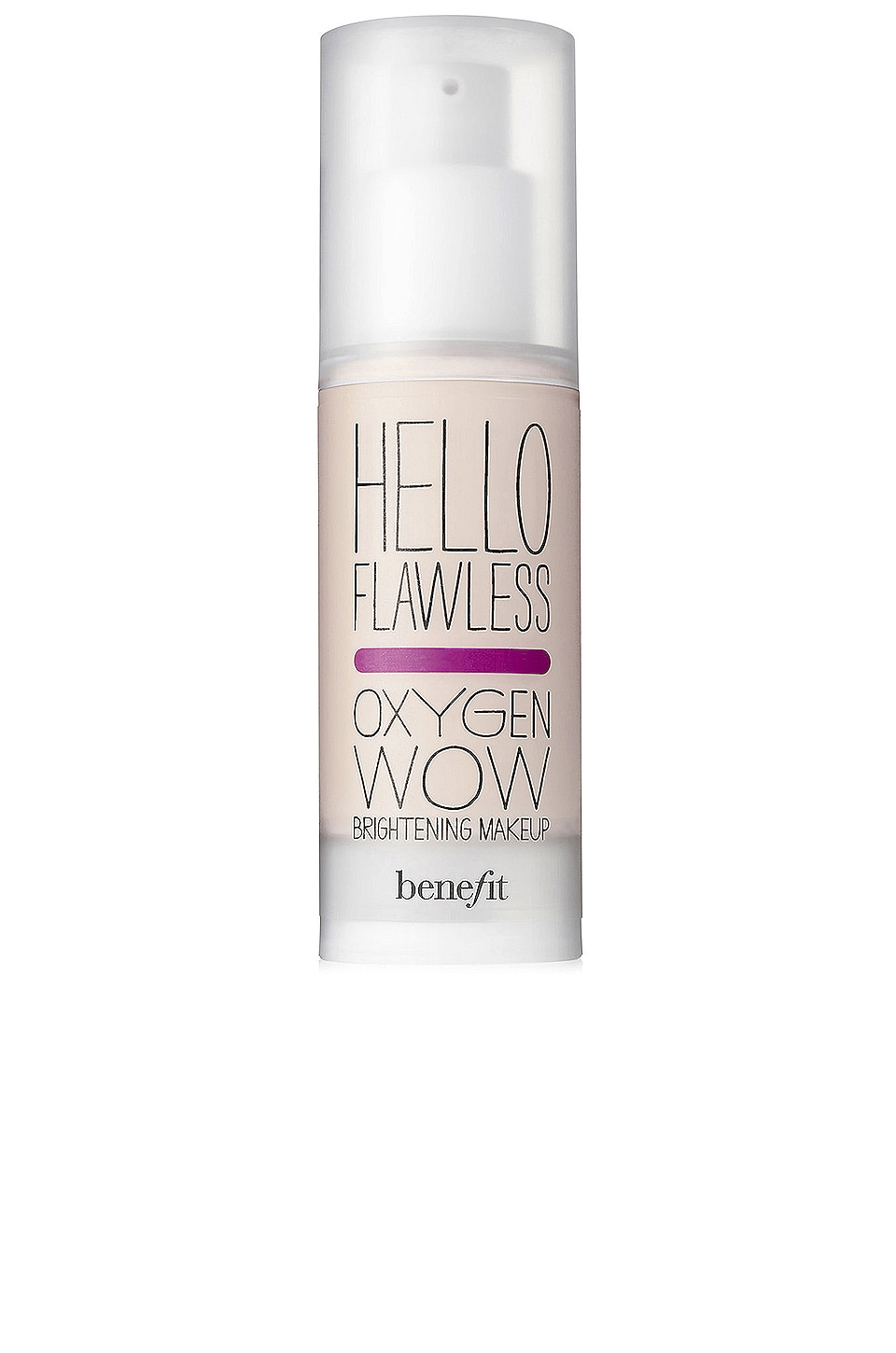 Benefit Cosmetics Hello Flawless! Oxygen Wow Liquid Foundation in Ivory I'm Pure 4 Sure