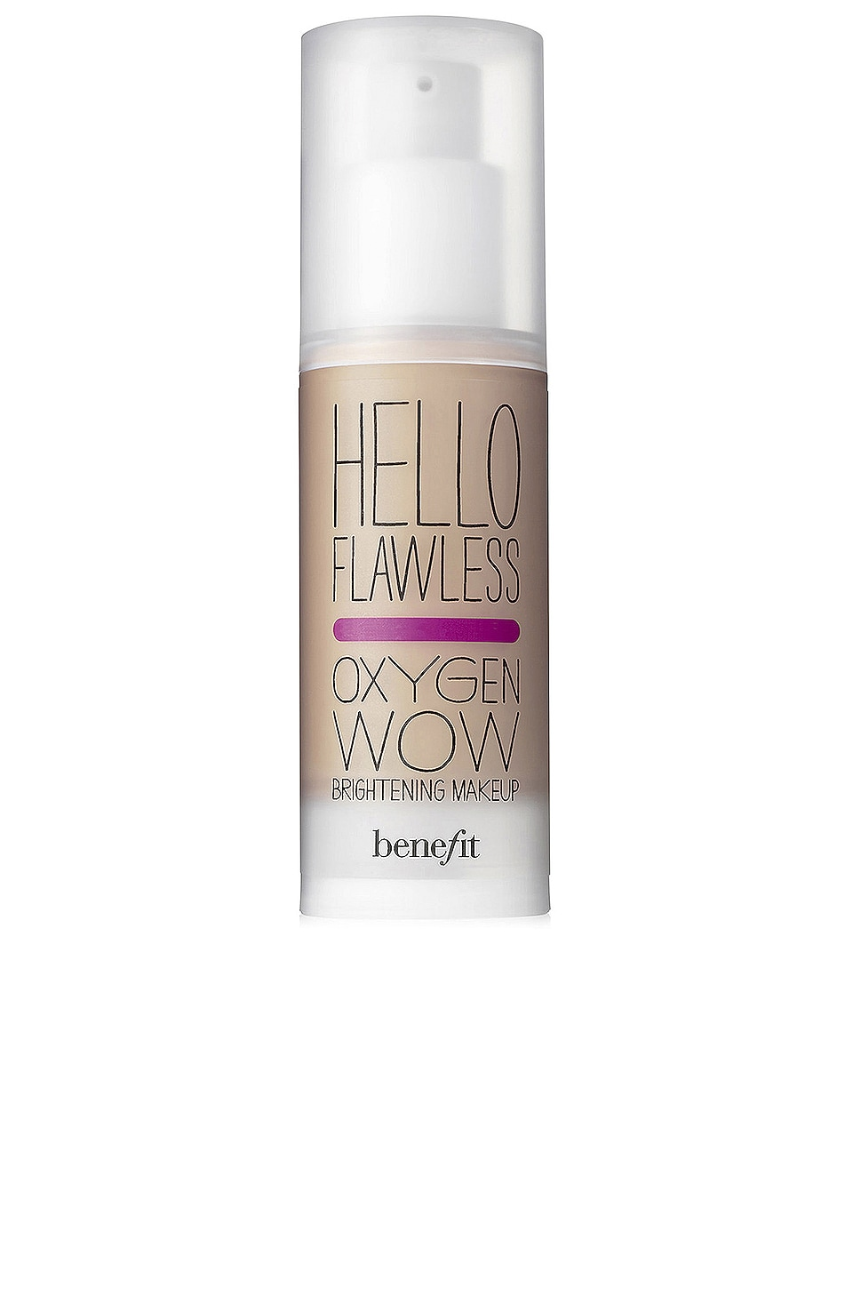 Benefit Cosmetics Hello Flawless! Oxygen Wow Liquid Foundation in Beige I'm All The Rage