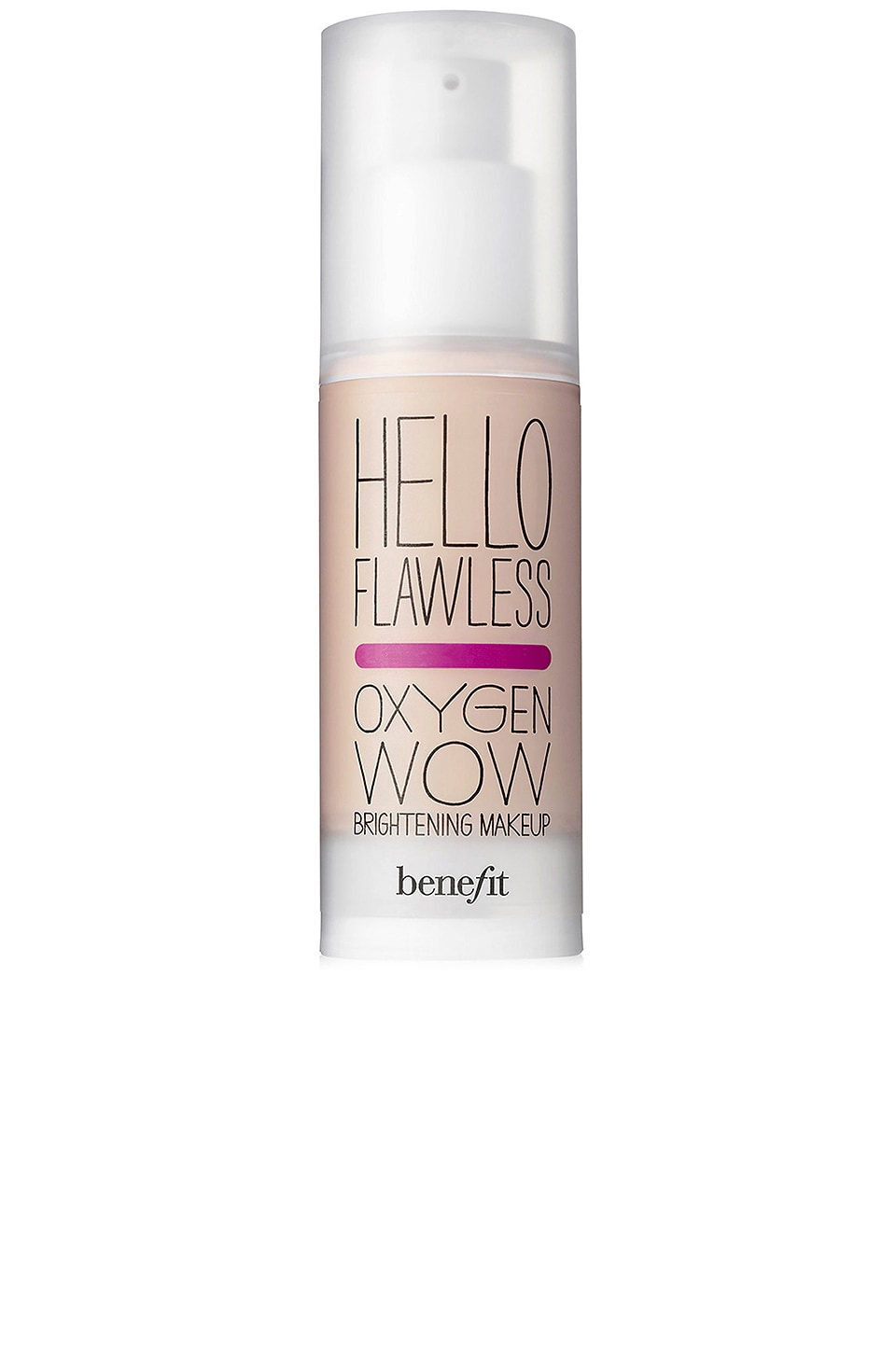 Benefit Cosmetics Hello Flawless! Oxygen Wow Liquid Foundation in Champagne Cheers To Me