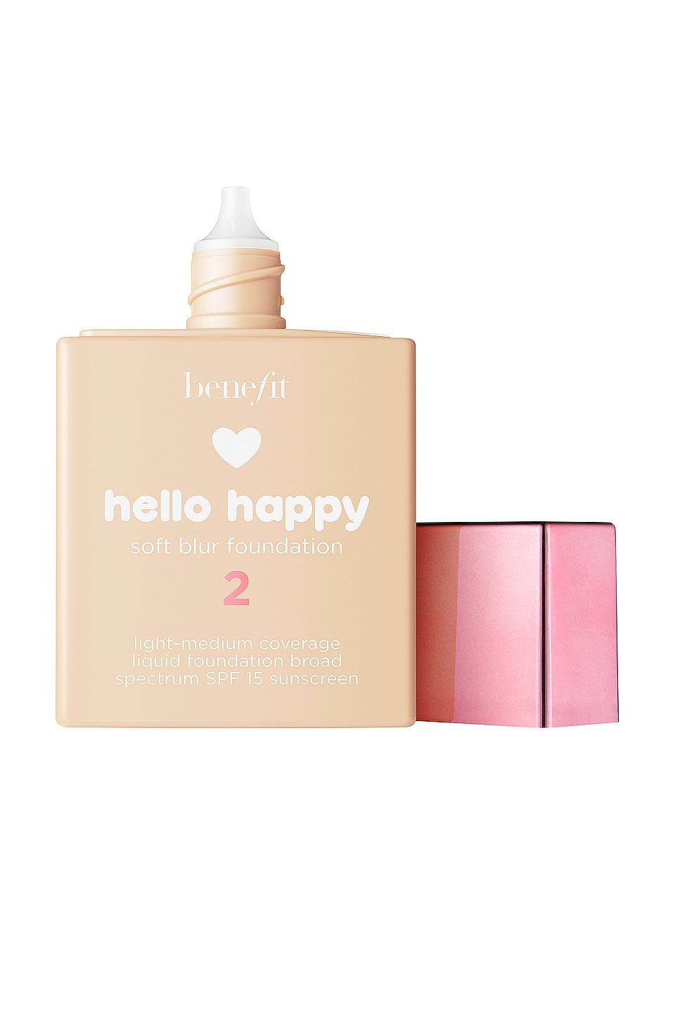 Benefit Cosmetics Hello Happy Soft Blur Foundation in Shade 02