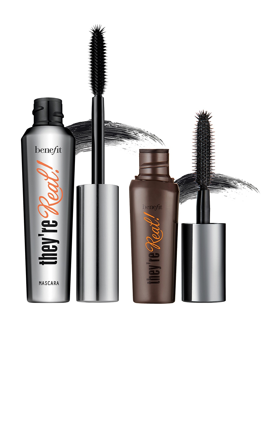 Benefit Cosmetics Real Big Steal They're Real! Lengthening Mascara Duo in Black