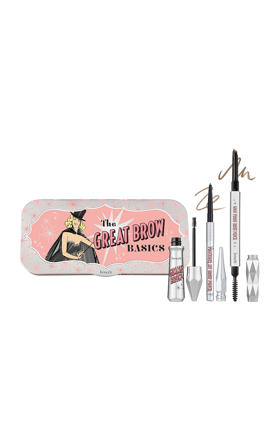Benefit Cosmetics The Great Brow Basics in 02 Warm Golden Blonde