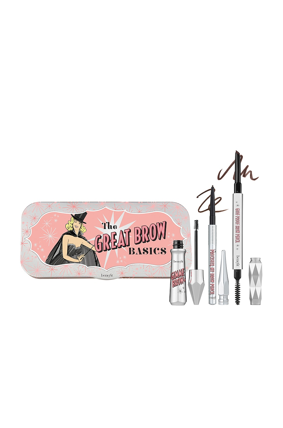 Benefit Cosmetics The Great Brow Basics in 05 Warm Black Brown