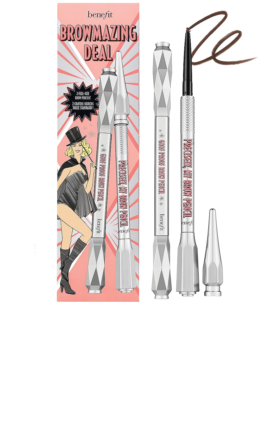 Benefit Cosmetics CONJUNTO PARA CEJAS BROWMAZING DEAL SET