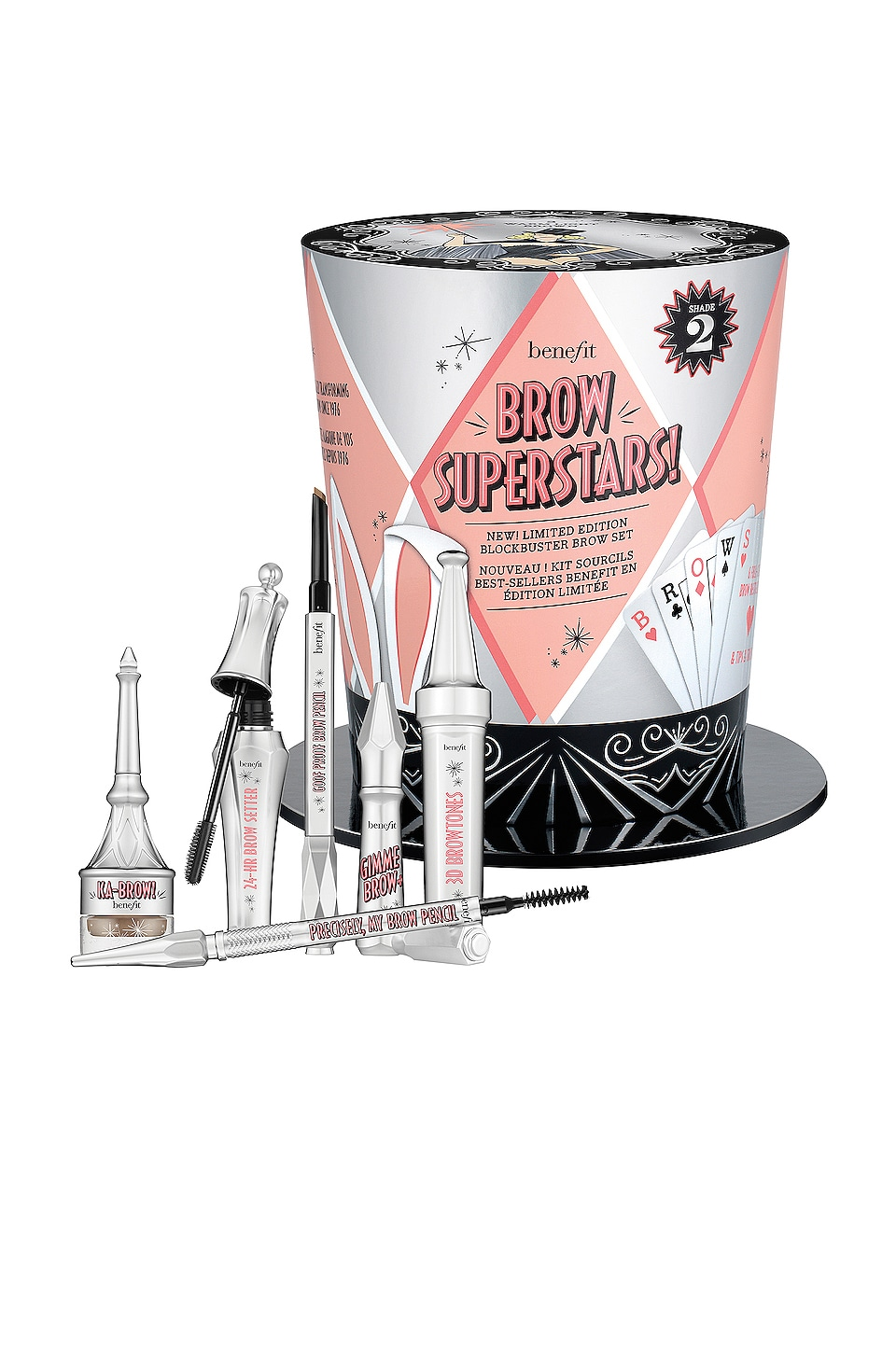 Benefit Cosmetics Brow Superstars! Brow Buster Set in 02