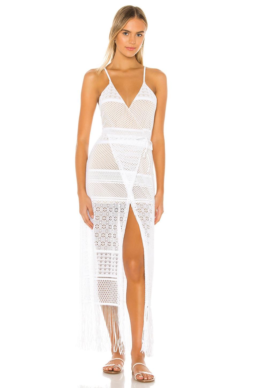 Beach Bunny Sienna Maxi Dress in White