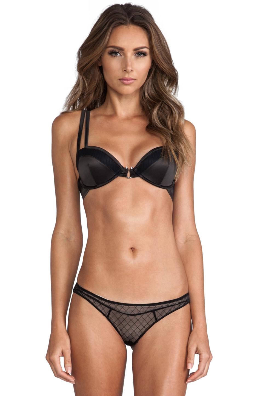Beach Bunny Classy Couture Push Up Bra in Black
