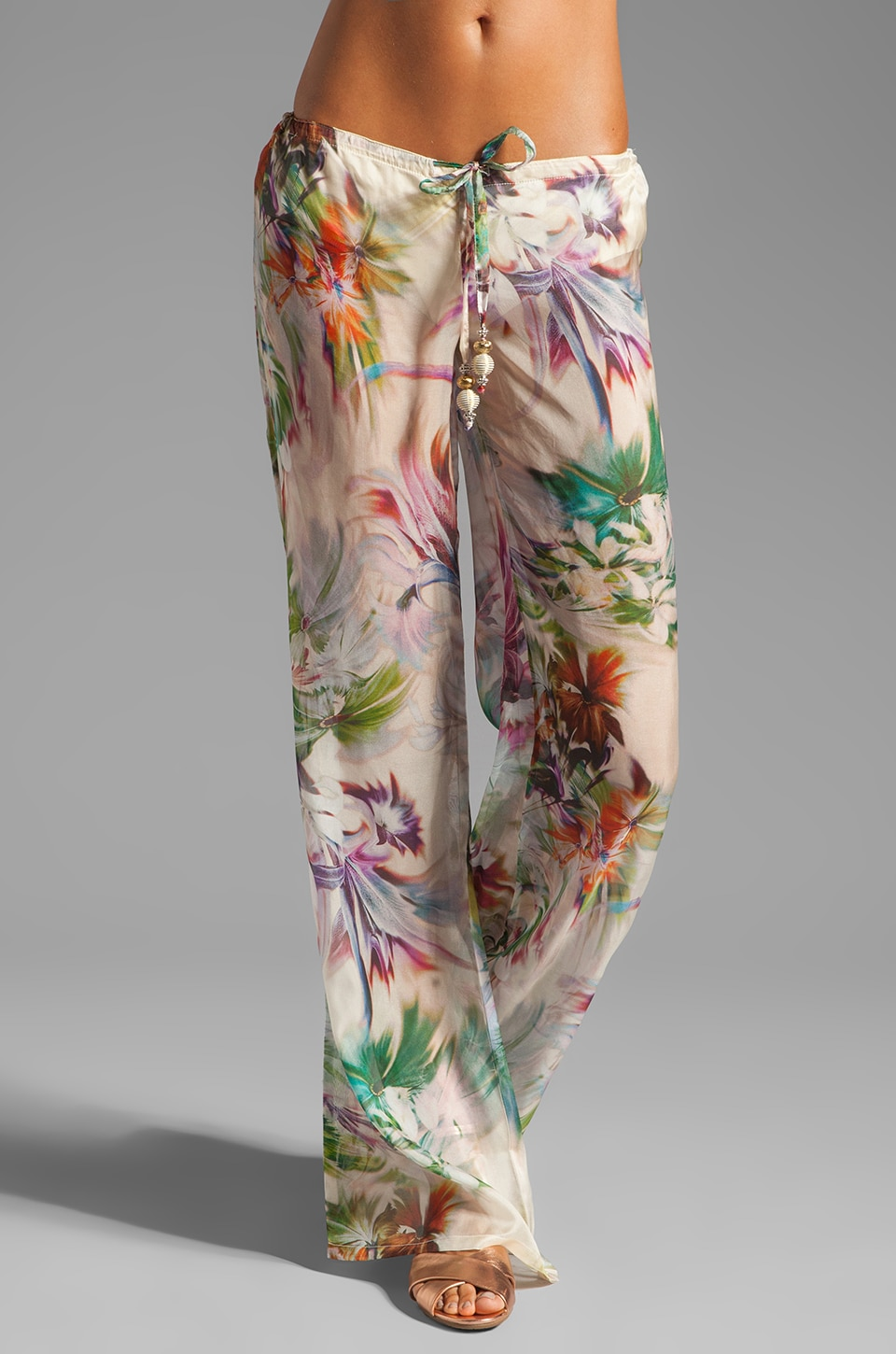 Beach Bunny Garden Party Pant in Tropical