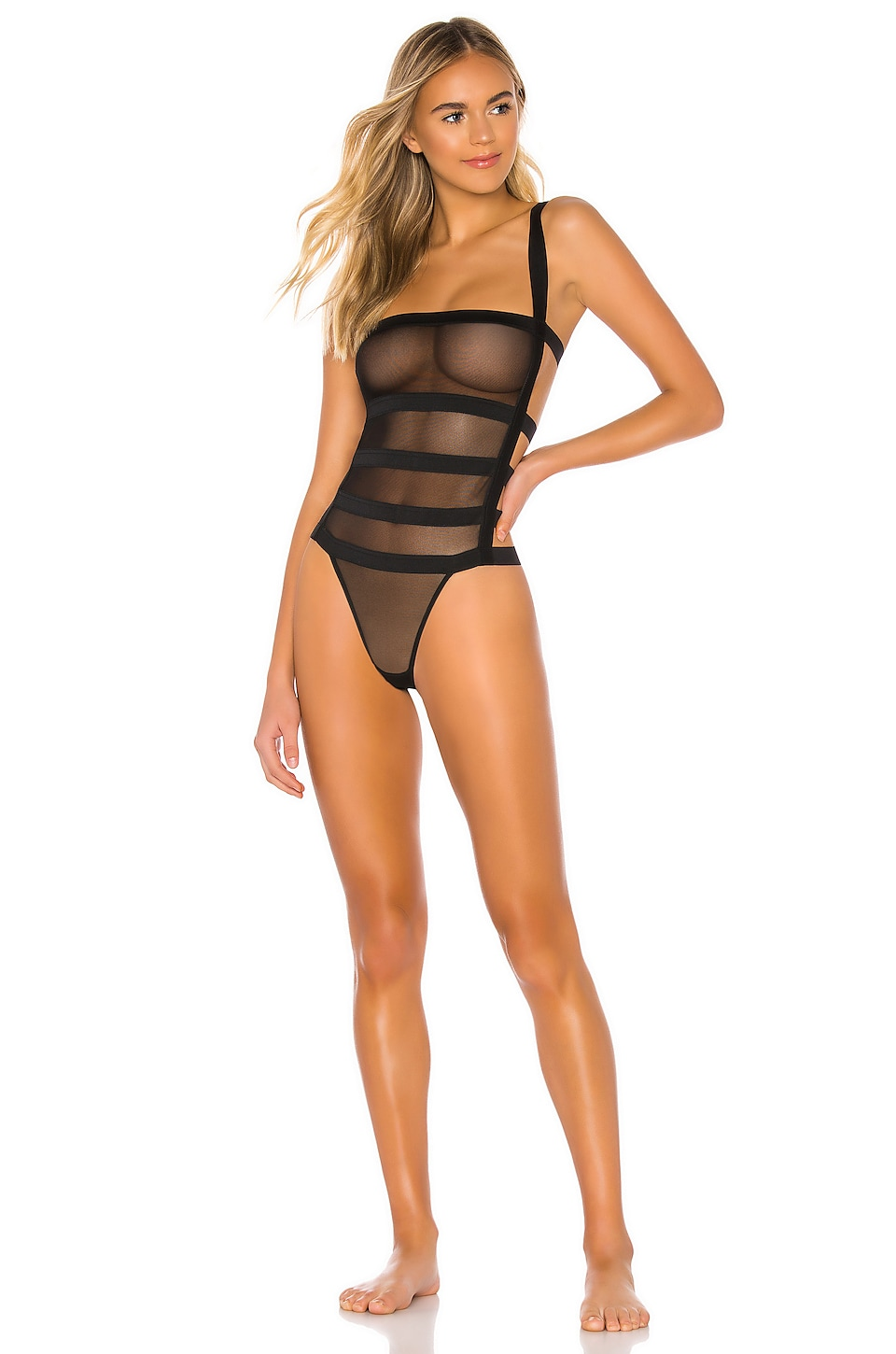 BLUEBELLA Angelina Bodysuit in Black