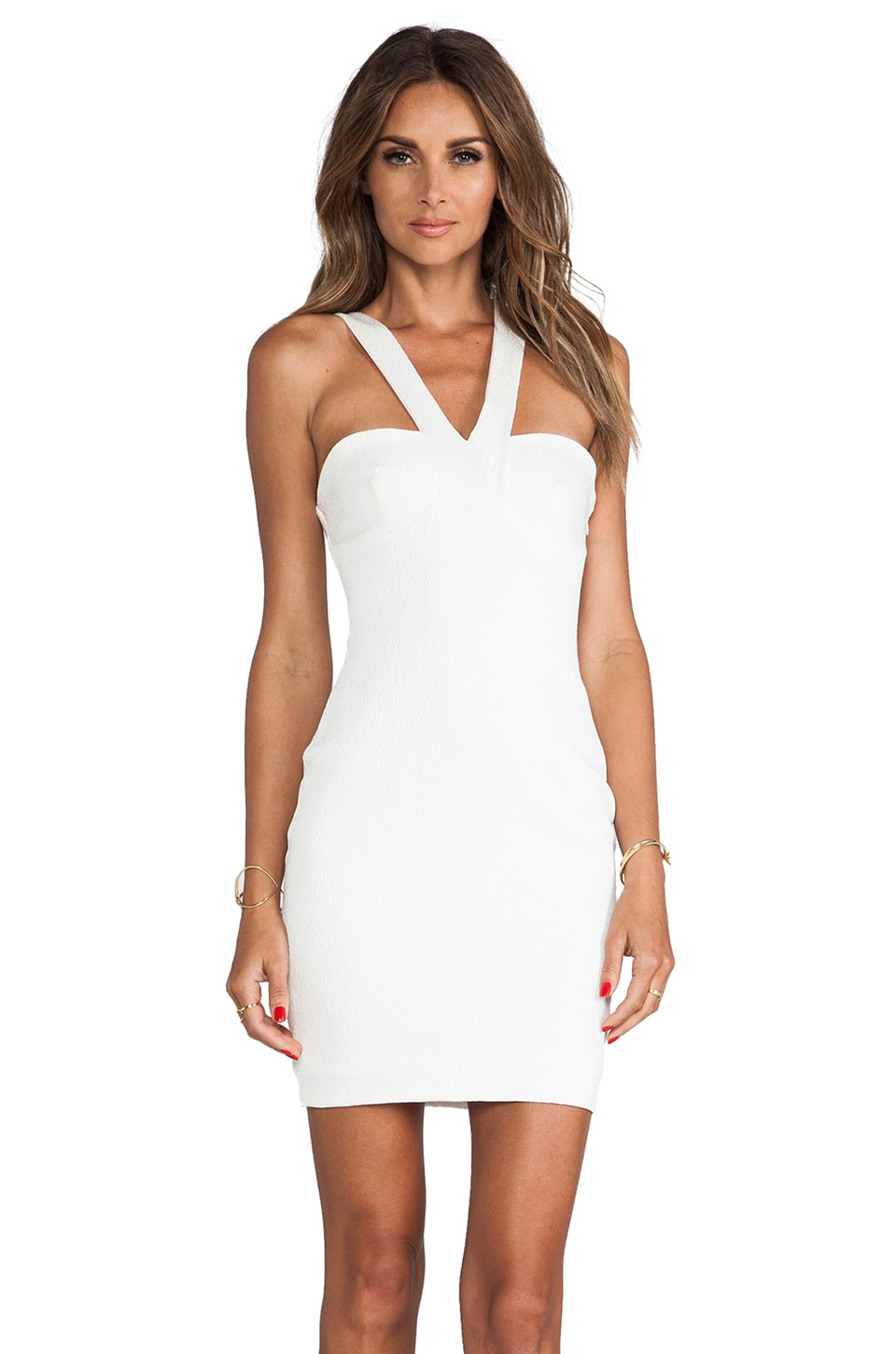 BEC&BRIDGE Isis Dress in Ivory