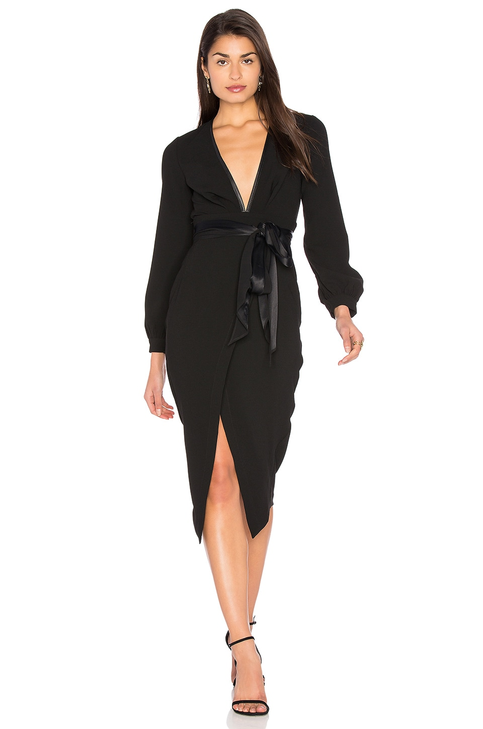 Roosevelt Long Sleeve Midi Dress
