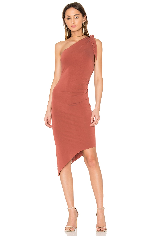 Titania Asymmetrical Midi Dress by BEC&BRIDGE
