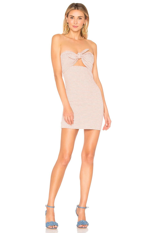 BEC&BRIDGE Peaches and Cream Dress in Stripe