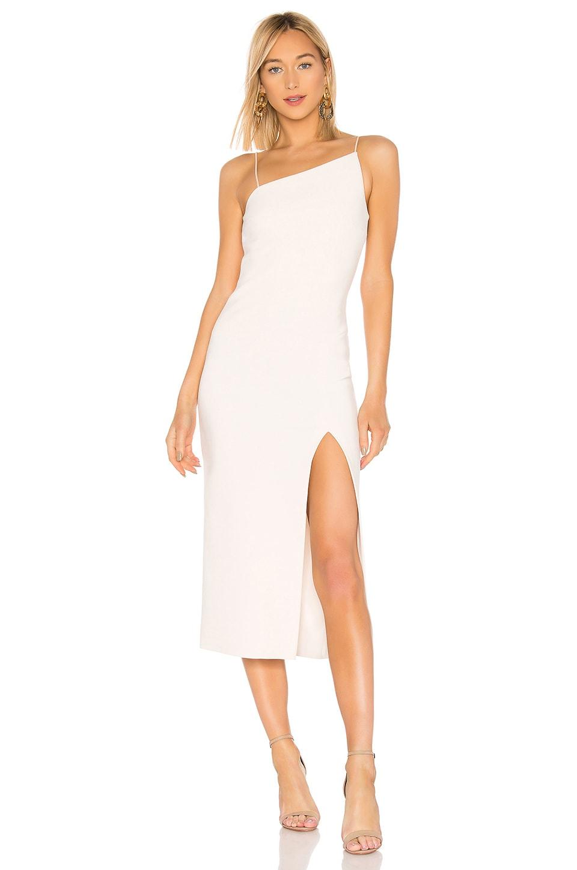 BEC&BRIDGE Dominique Asymmetrical Dress in Vanilla Bean