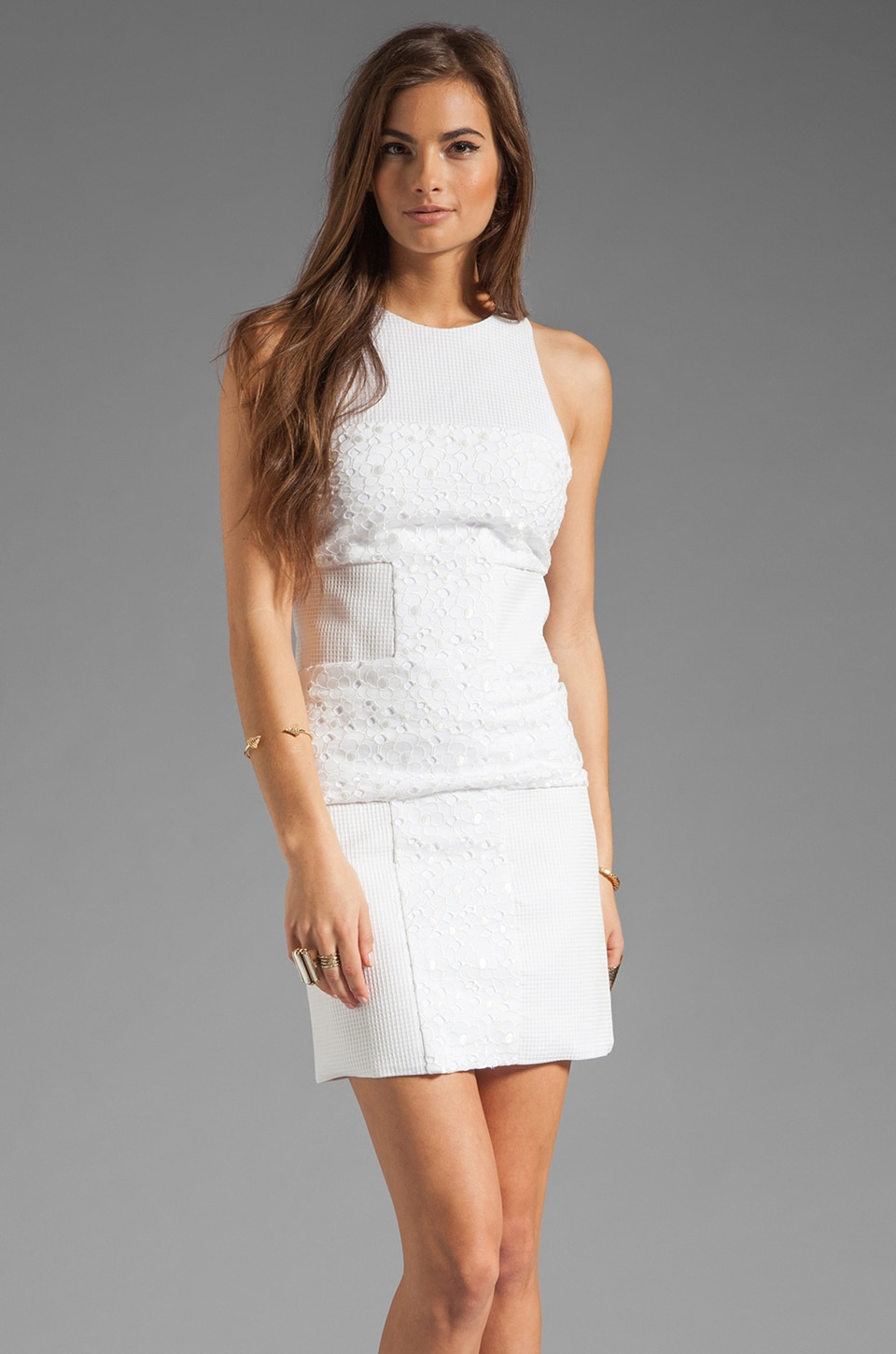 BEC&BRIDGE Renegade Cross Dress in White