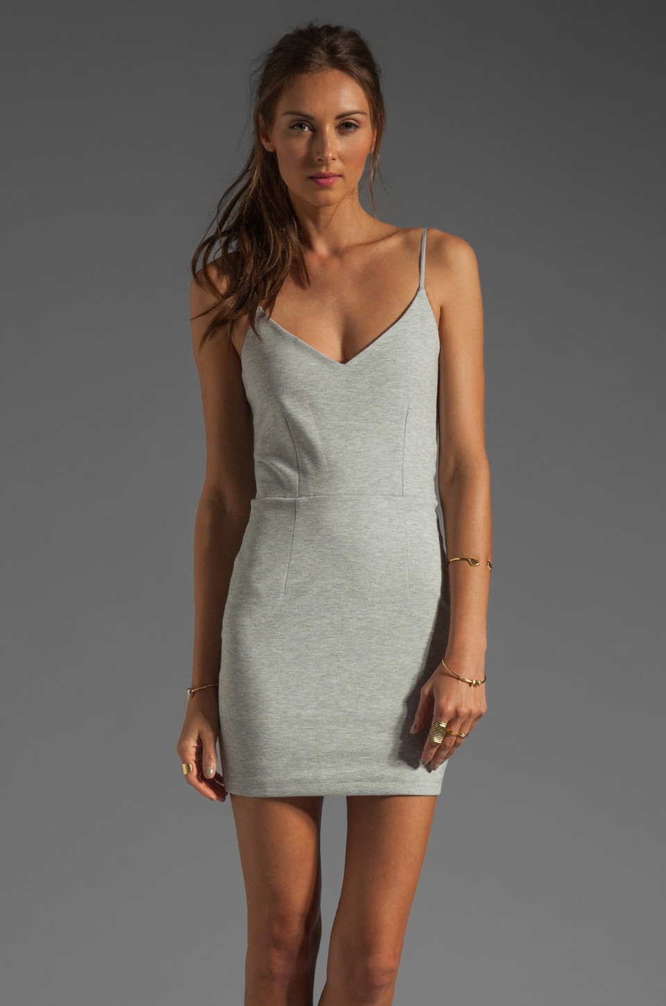BEC&BRIDGE Seville Mini Dress in Ash