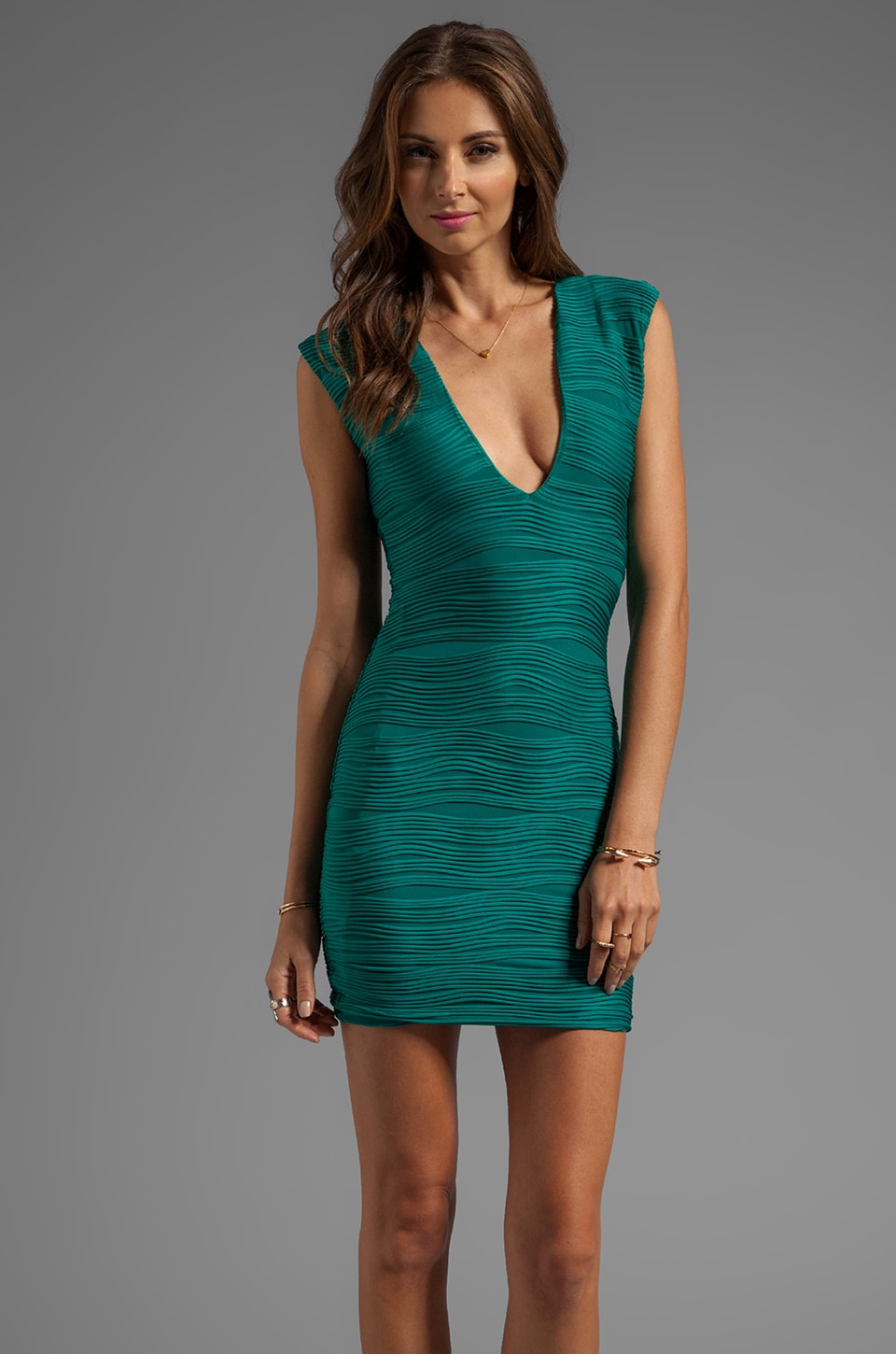 BEC&BRIDGE Wisteria Reversible Dress in Jade