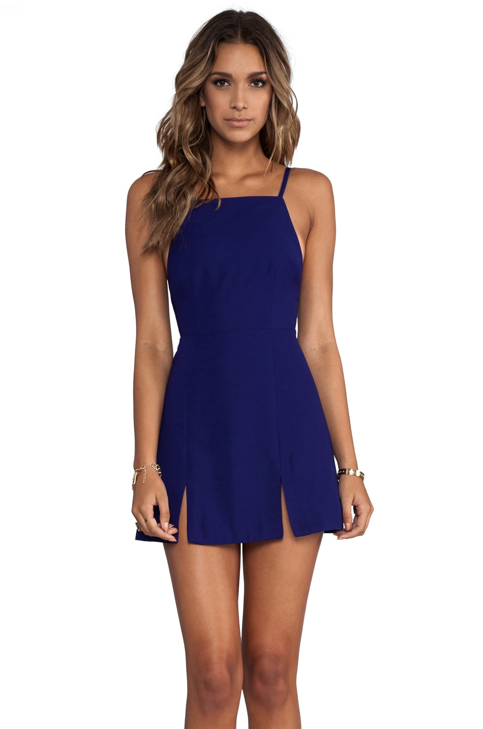 BEC&BRIDGE Willow Split Dress en Indigo