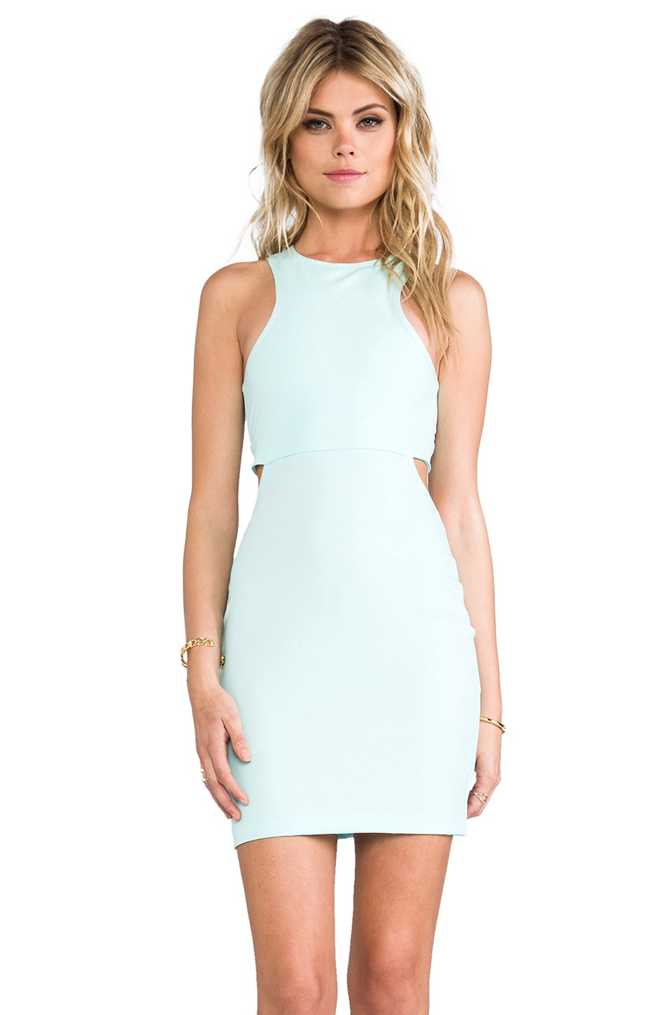 BEC&BRIDGE Tyra Mini Dress in Mint