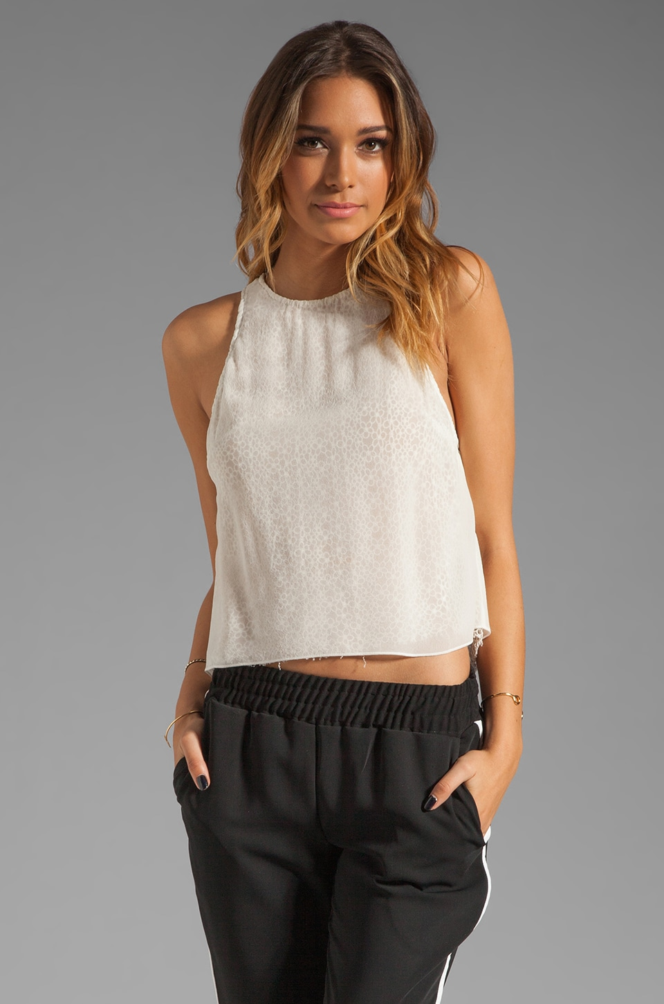 BEC&BRIDGE Hidden Daisy Tank en Ivory